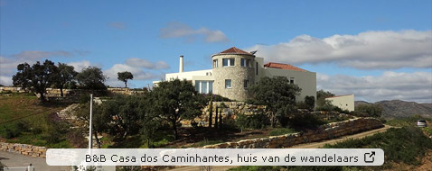 Bed and breakfast Casa do Caminhantes, huis van de wandelaars