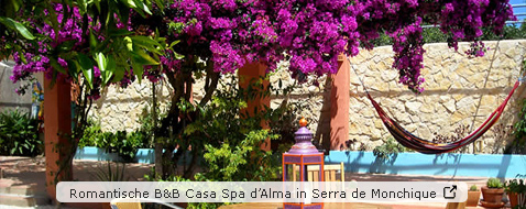 Bed and breakfast Algarve in natuurpark Serra de Monchique